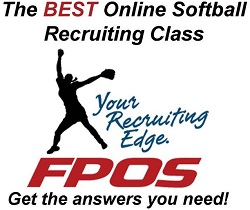 Fastpitch softball showcase recruiting
