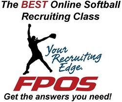 Fastpitch softball showcase recruiting